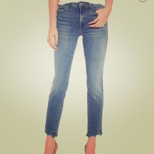 MOTHER rascal ankle chew jeans
